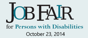 Job Fair for Persons with Disability, Oct, 23, 2014