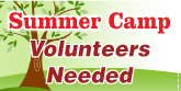 Summer Camp Volunteer needed