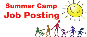 Summer Camp Button Job Posting
